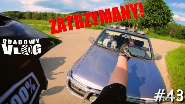 Pijany kierowca zatrzymany ( film https://youtu.be/86O1bAfMz5U )