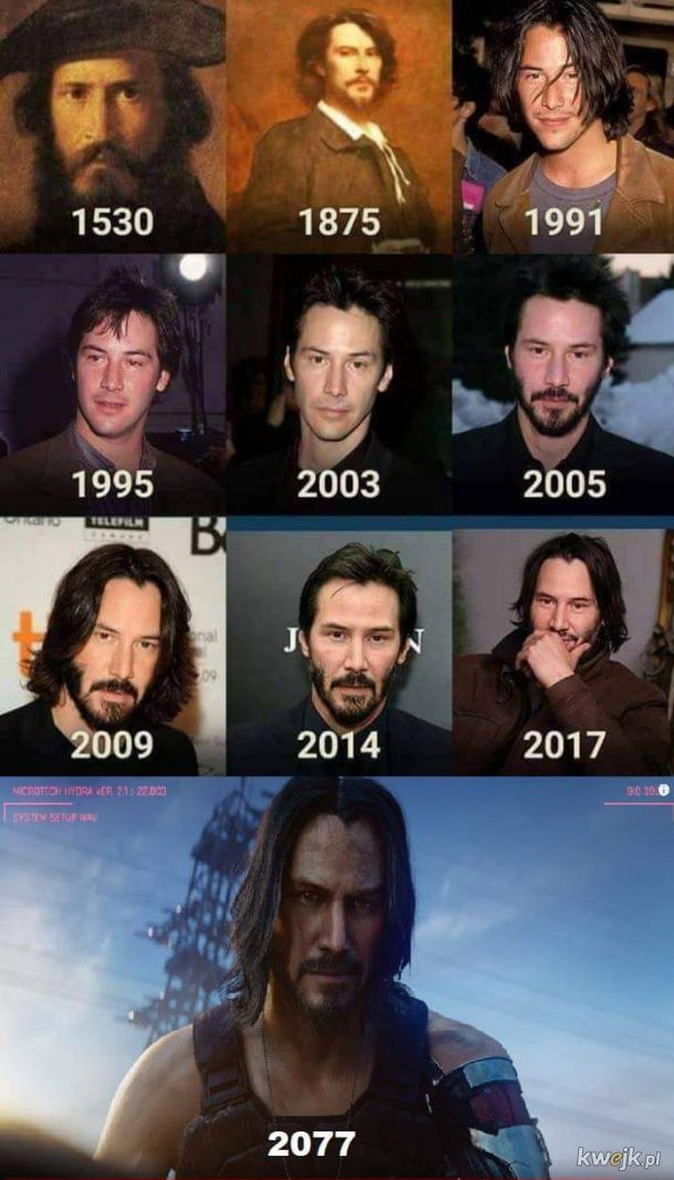 Keanu Reeves is IMMORTAL!