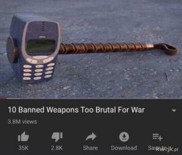 Groźna broń