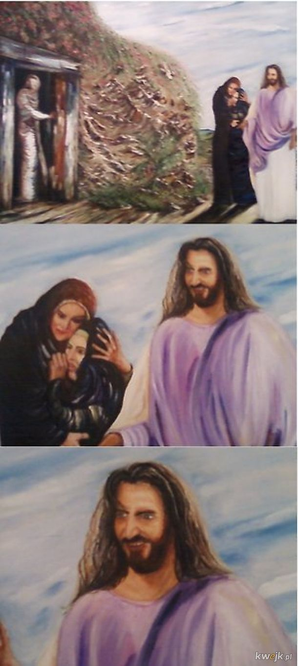 Pan Jezus Fasola już się zbliża...