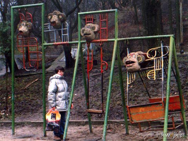 Przerażające rosyjskie place zabaw