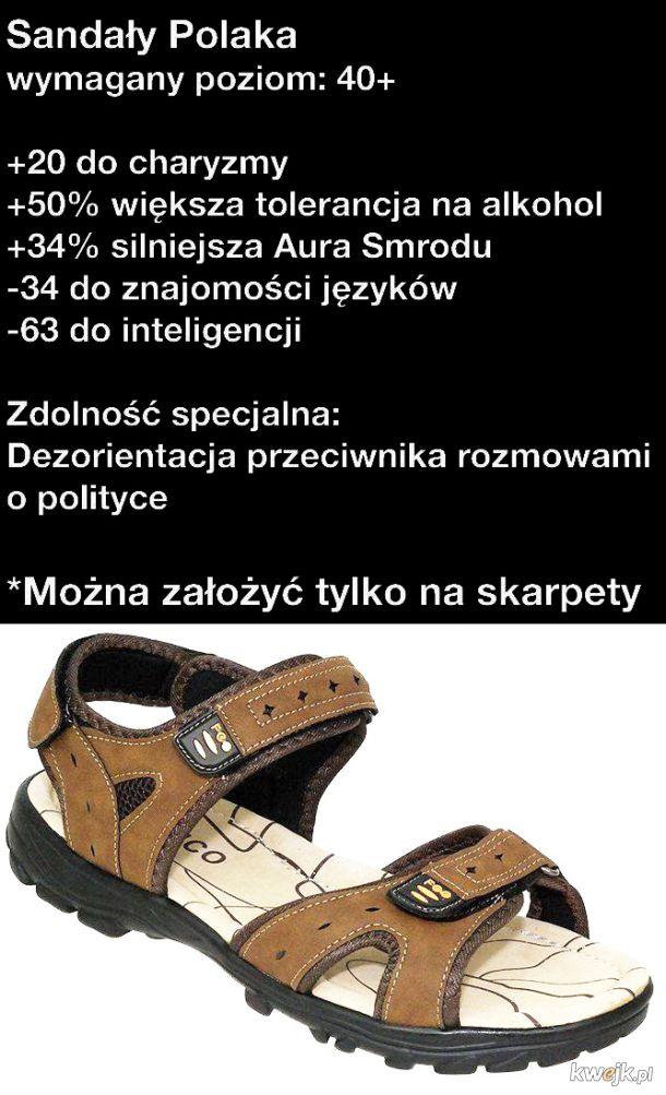 Sandały Polaka