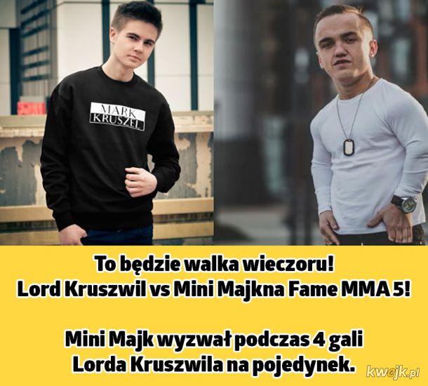 Lord Kruszwil kontra Mini Majk