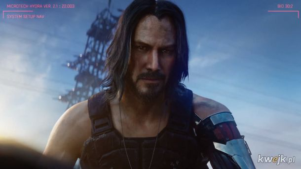 Keanu Reeves w Cyberpunk 2077!!!