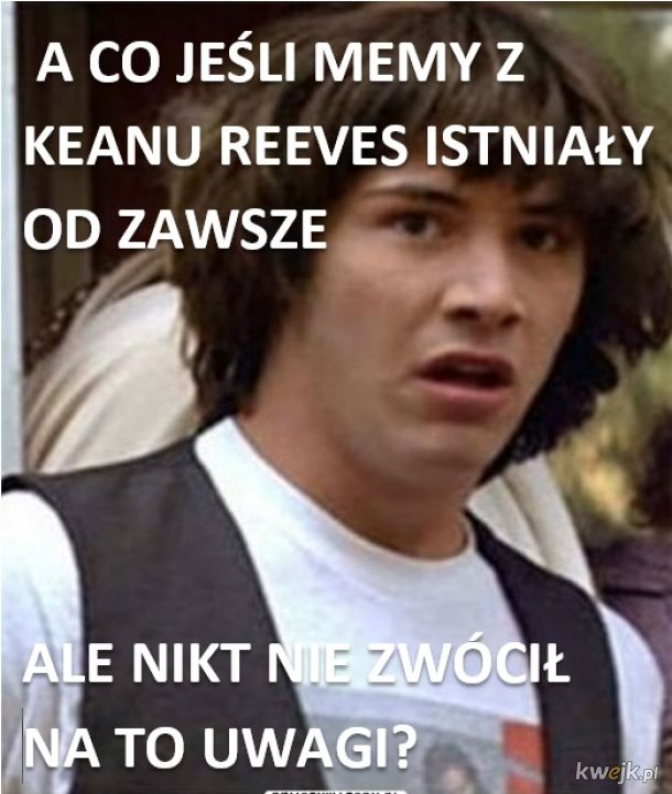KEANU REEVES PLOT TWIST