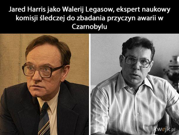 """Aktorzy z """"Czarnobyla"""" w porównaniu do prawdziwych postaci"""