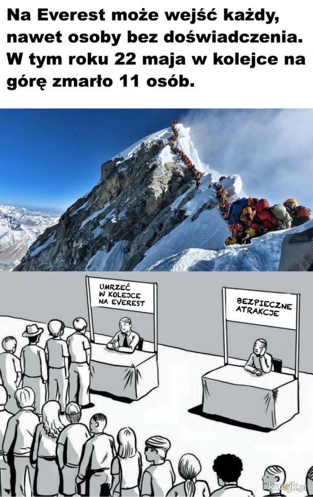 Niebezpieczny Everest