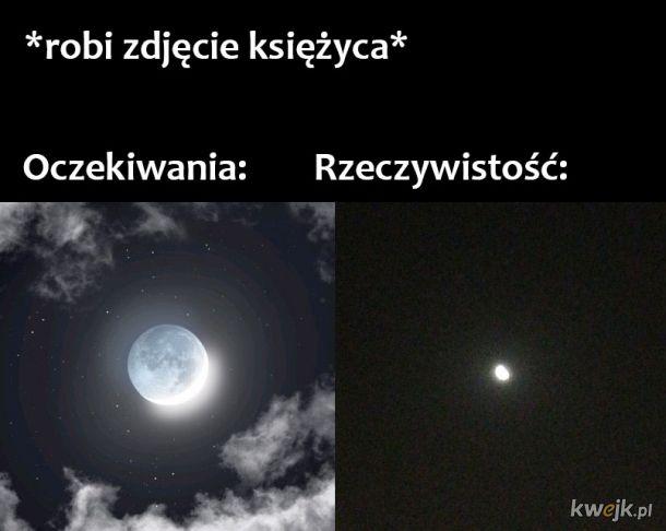 Księżyc na zdjęciach
