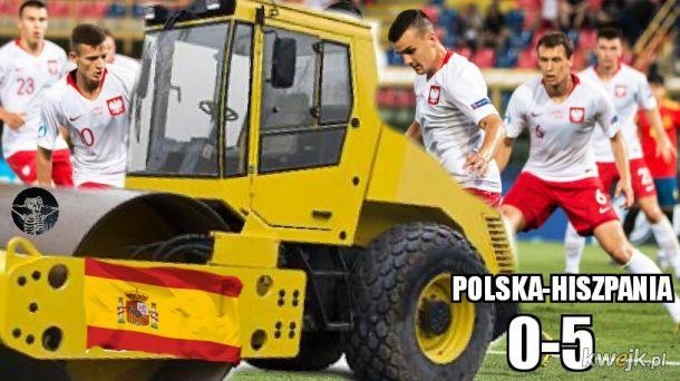 Polska Hiszpania u-21