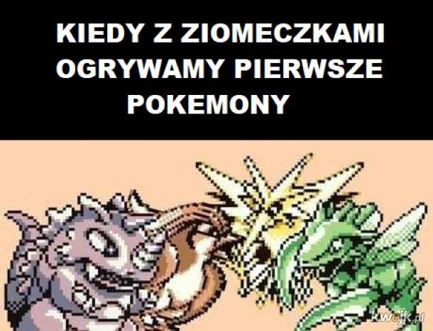 Pokemony z ziomkami