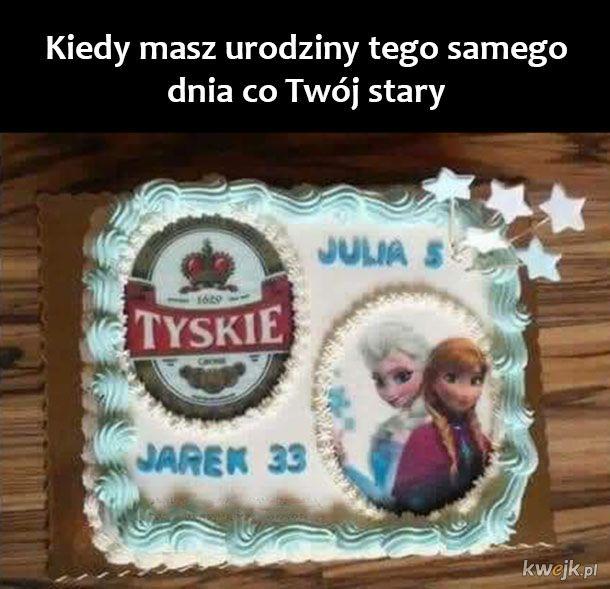 Piękny tort
