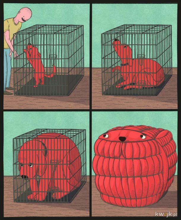 Naprawdę dziwne i trochę przerażające komiksy Huntera Scheiderera