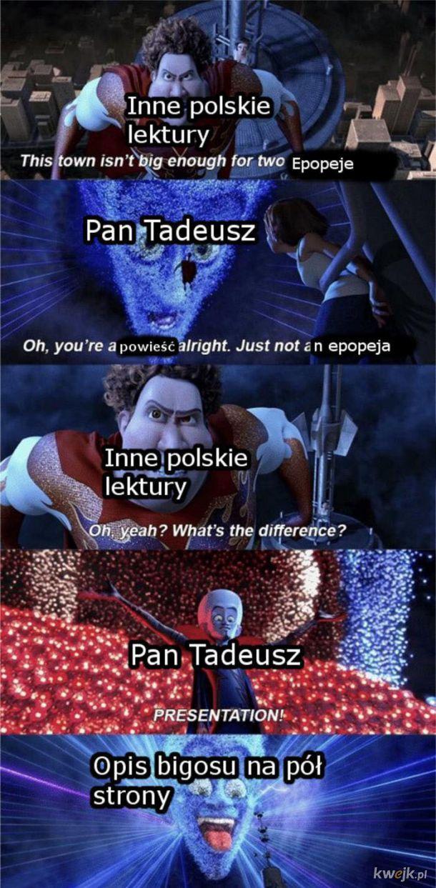 Pan Tadeusz - lektura nad lekturami