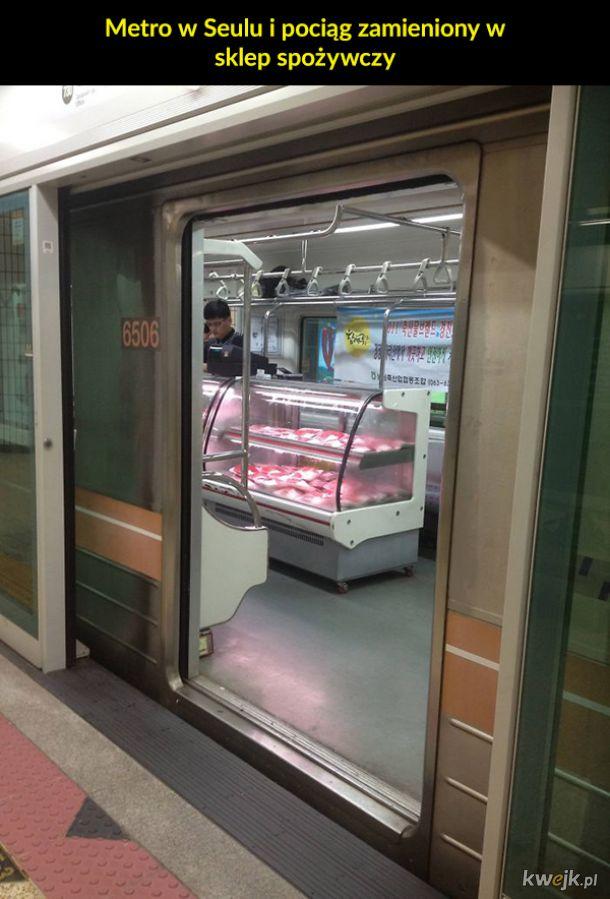 Dziwne sytuacje w metrze