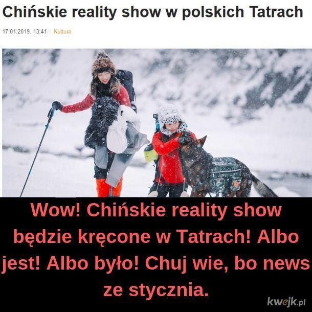 Chińskie reality show