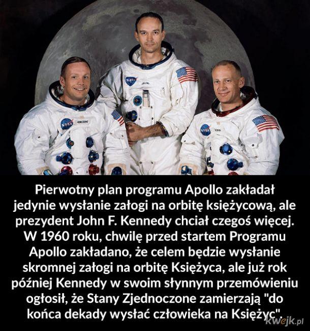 Ciekawostki o lądowaniu na Księżycu z okazji 50 rocznicy