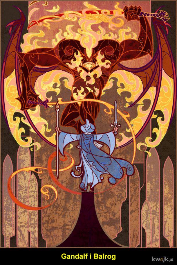 Władca Pierścieni - ilustracje Jian Guo