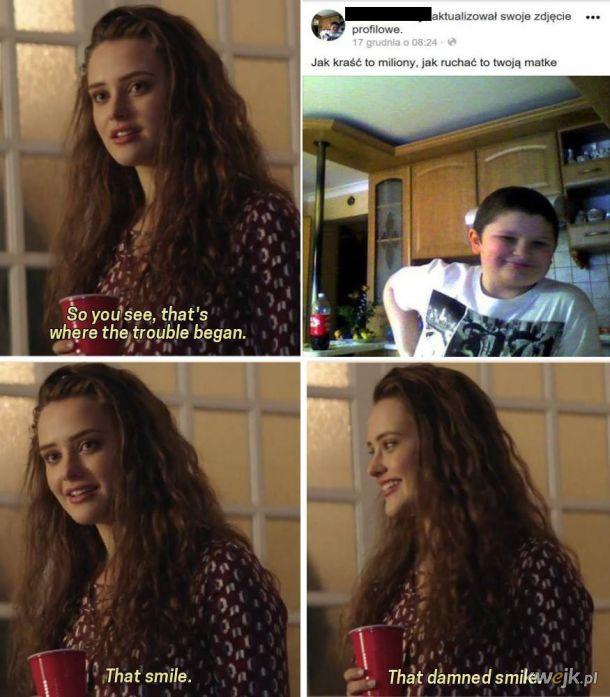 Ten uśmiech