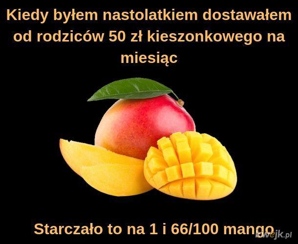 Według byłej żonyi Boruca mango kosztuje 30 zł