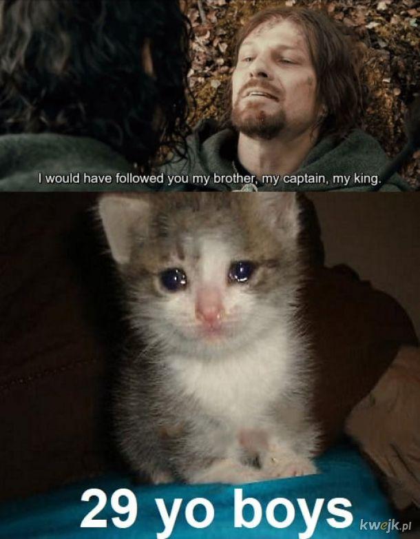 Boromir, no ;___;
