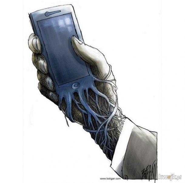 Ilustracje pokazujące co technologia z nami uczyniła, obrazek 5