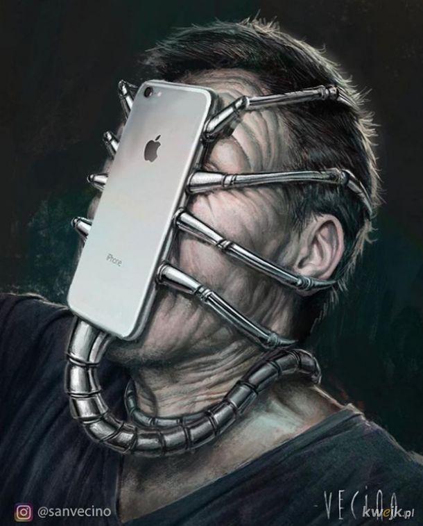 Ilustracje pokazujące co technologia z nami uczyniła, obrazek 14
