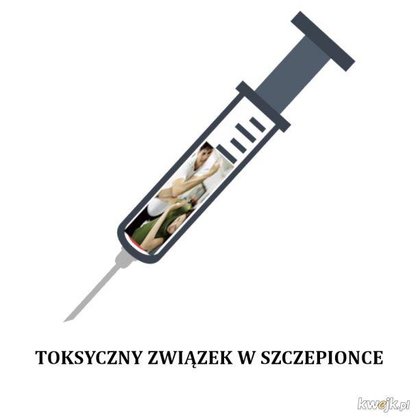 Toksyczny Związek w Szczepionce