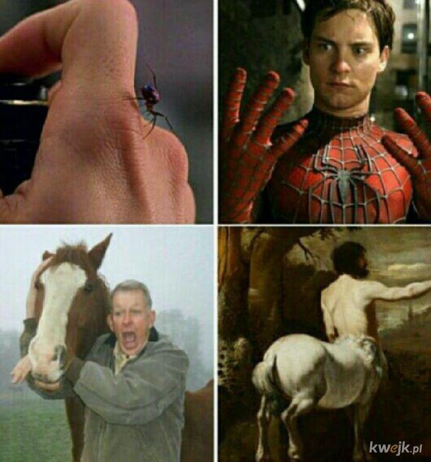 Człowiek koń