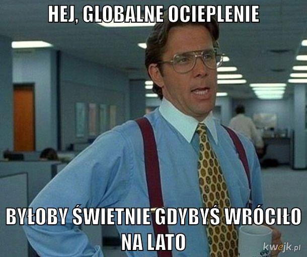 GLOBALNE OCIEPLENIE W LIPCU