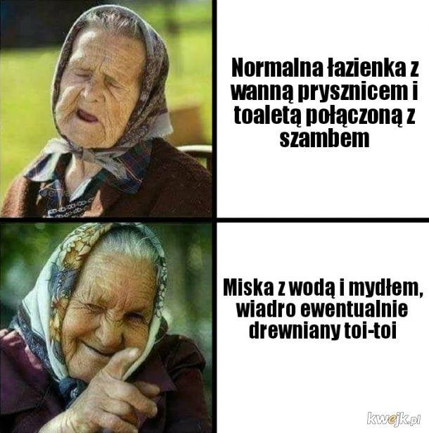 U babci na wsi