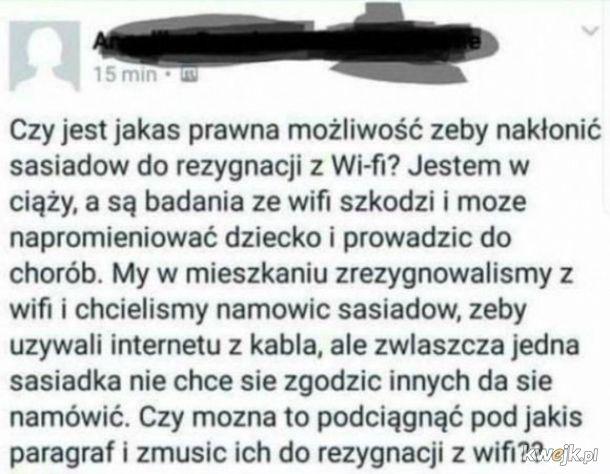 Rezygnacja z Wi-Fi