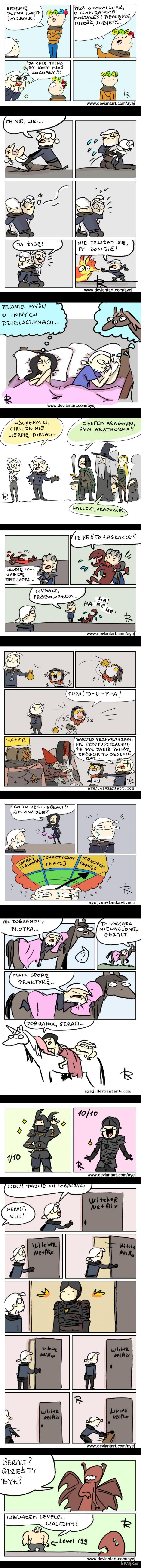 Wiedźminowe Komiksy 2 (by Ayej)