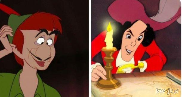 Faceswap antagonistów i protagonistów Disneya
