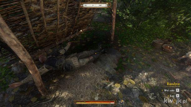Przebrałem się za złodzieja zakradłaem do obozu i wszystkich wymordowałem po cichu...