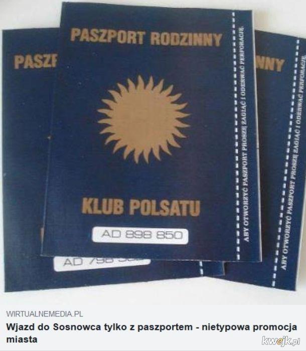 Do Sosnowca tylko z Paszportem Polsatu