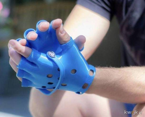 rękawiczki crocs