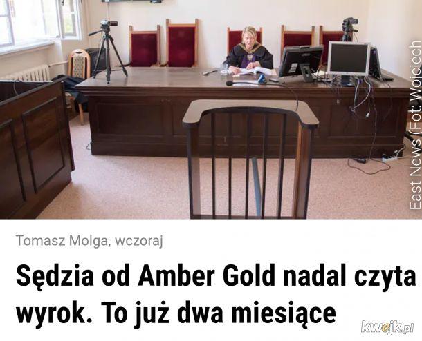 W sierpniu chce iść na urlop, a wyrok jest w ostatnim tomie akt ¯\_(ツ)_/¯