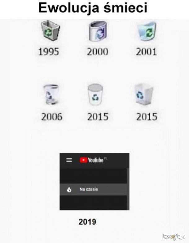 Ewolucja śmieci