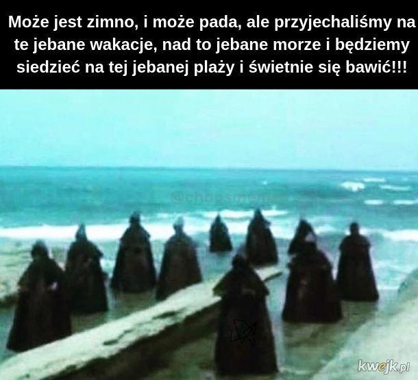 Wakacje nad polskim morzem takie są