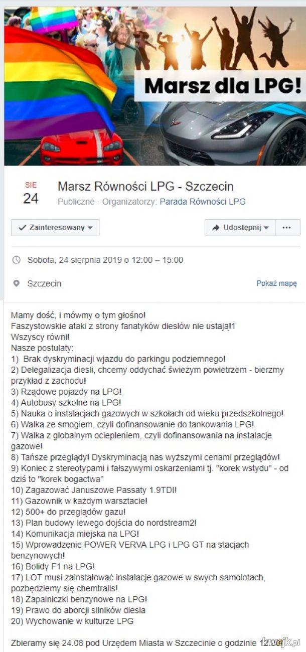 Marsz LPG