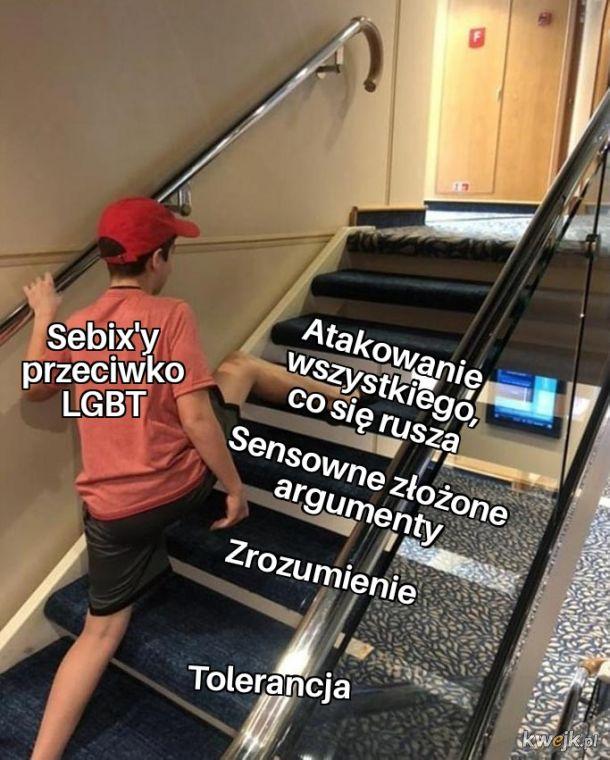 """Typowe sebixy i ich najlepszy """"argument""""."""