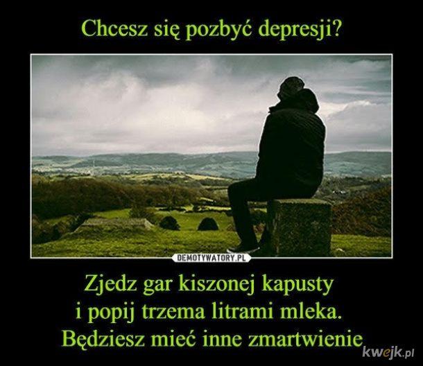 Depresja jest często nieuleczalna warto próbować