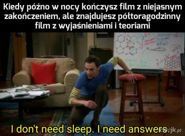 Potrzebuję odpowiedzi