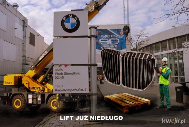 Lift BMW już niedługo