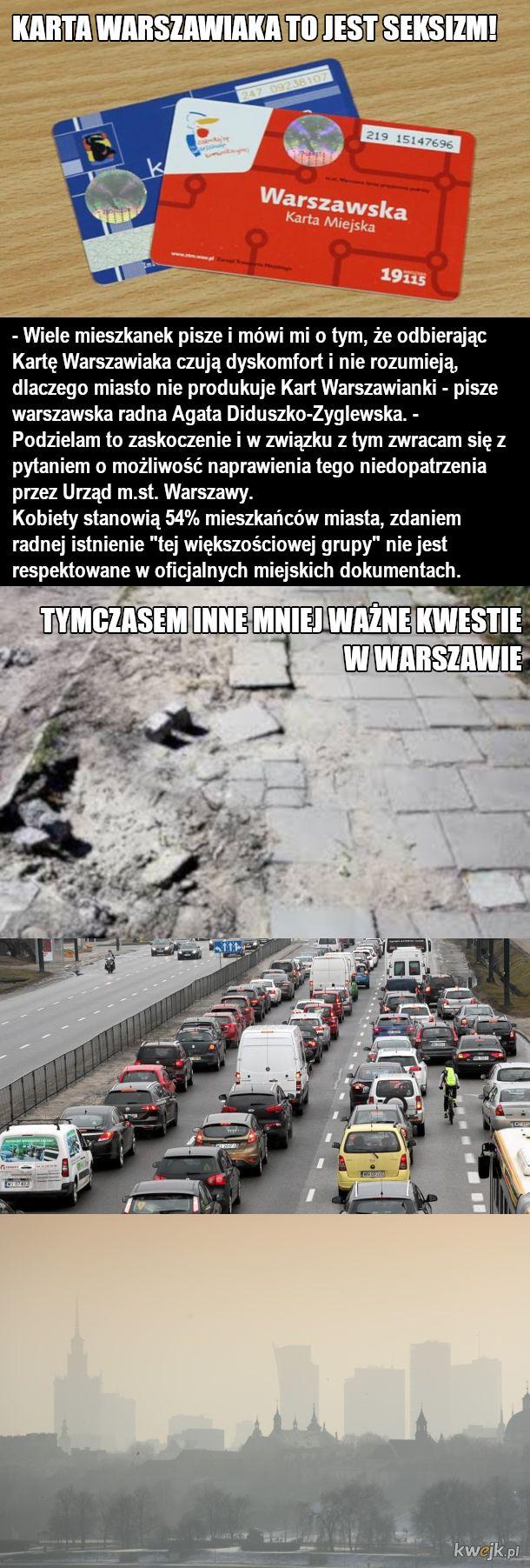 Problemy Warszawy