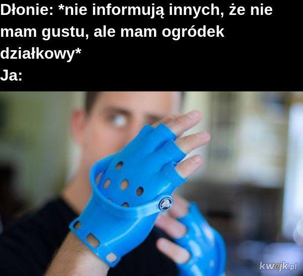 Rękawiczki Crocksy