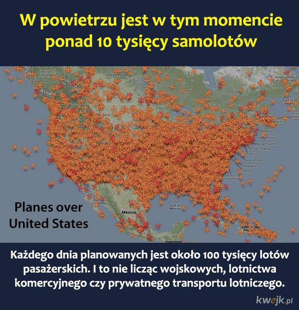 Kilka dowodów na to, że strach przed lataniem samolotem jest bezsensowny