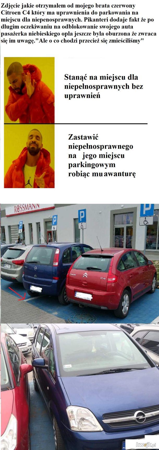 Parkowanie lvl Janusz i Grażyna