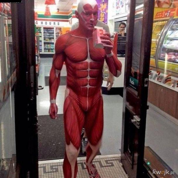 gdy przychodzisz do sklepu straszyć wegan