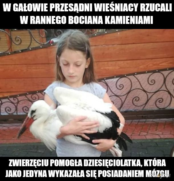 Dorośli dają przykład dzieciom...